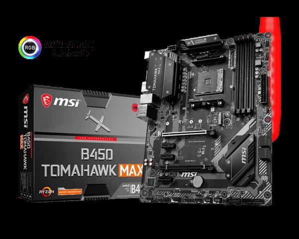 Best-Budget-Motherboard---MSI-B450-Tomahawk-Max
